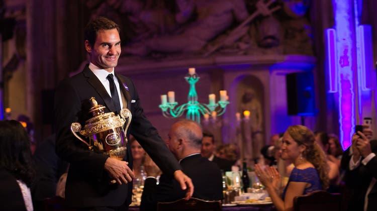 Federer hat die Nacht durchgefeiert: «Bin mit Kopfweh aufgewacht»