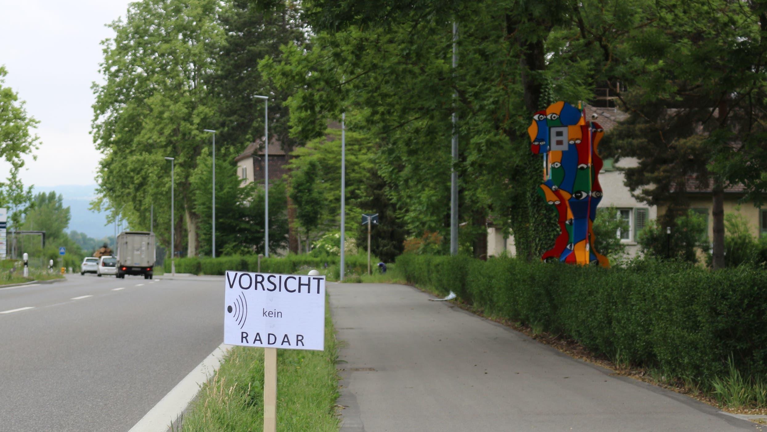 Der erste «fixe Blitzer» im Aargau