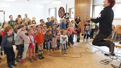 Nicht nur Kinder finden die Musik von Christian Schenker toll