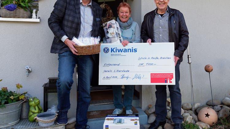 Kiwanis Club Olten unterstützt Grundschule in Recife