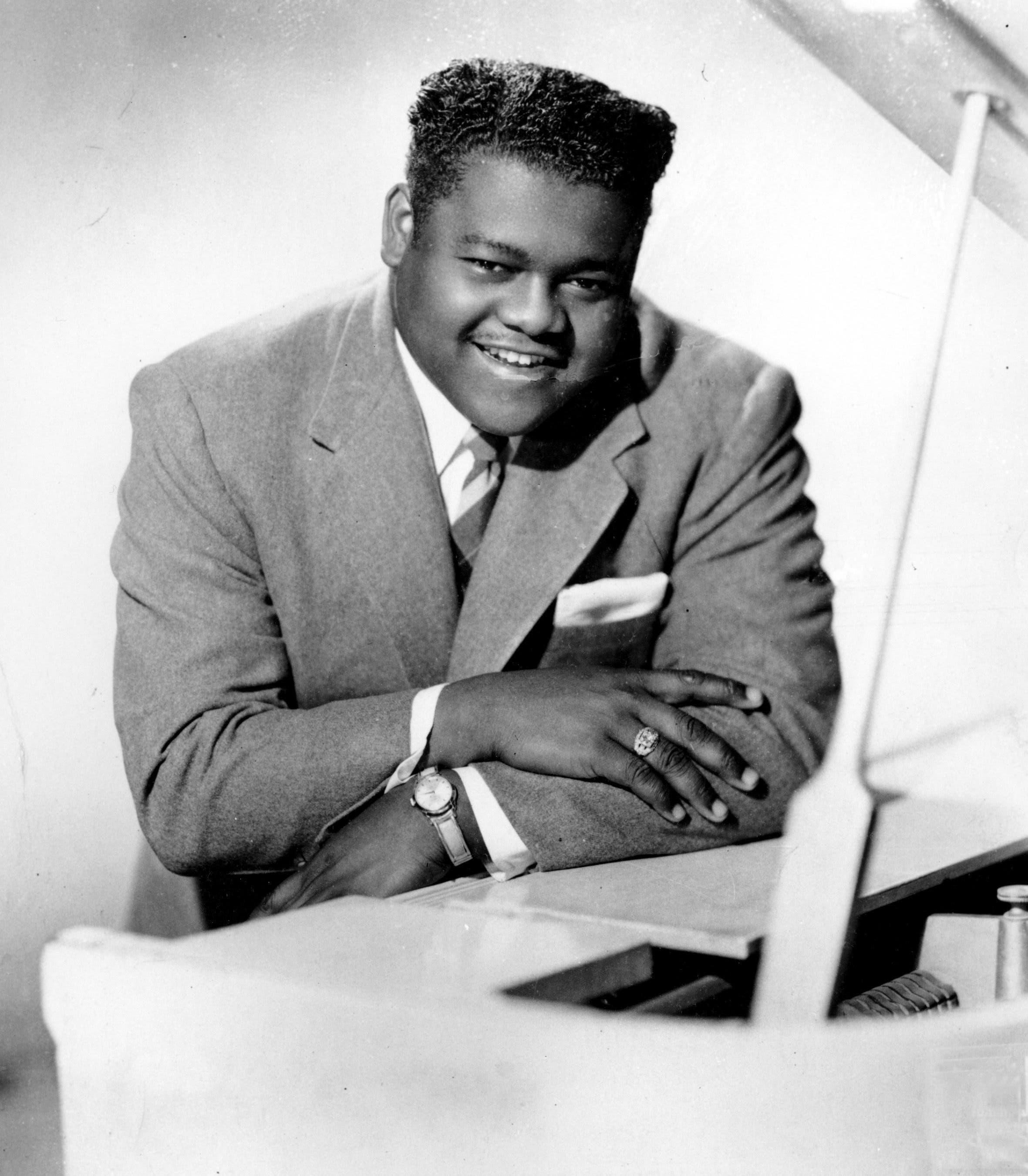 Dieses Foto zeigt den Bluessänger im Jahr 1956.