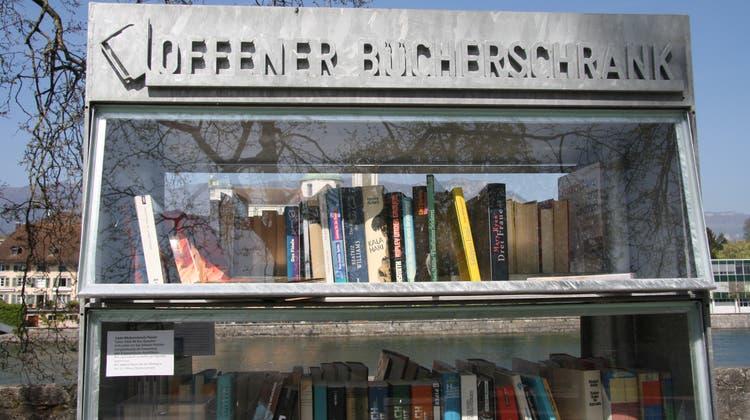 Hotspot zum Schmökern: Der offene Bücherschrank hat jetzt seinen eigenen Verein