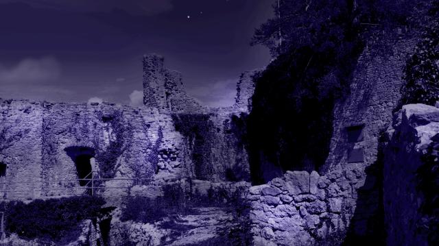 Vorerst nur Mondlicht für die Ruine Dorneck