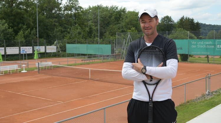 Die Tennisschule Caroline Cecchetto hat einen neuen Trainer – seinen Schülern möchte er Spass vermitteln