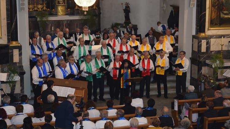 110. Generalversammlung des Männerchors Mellingen