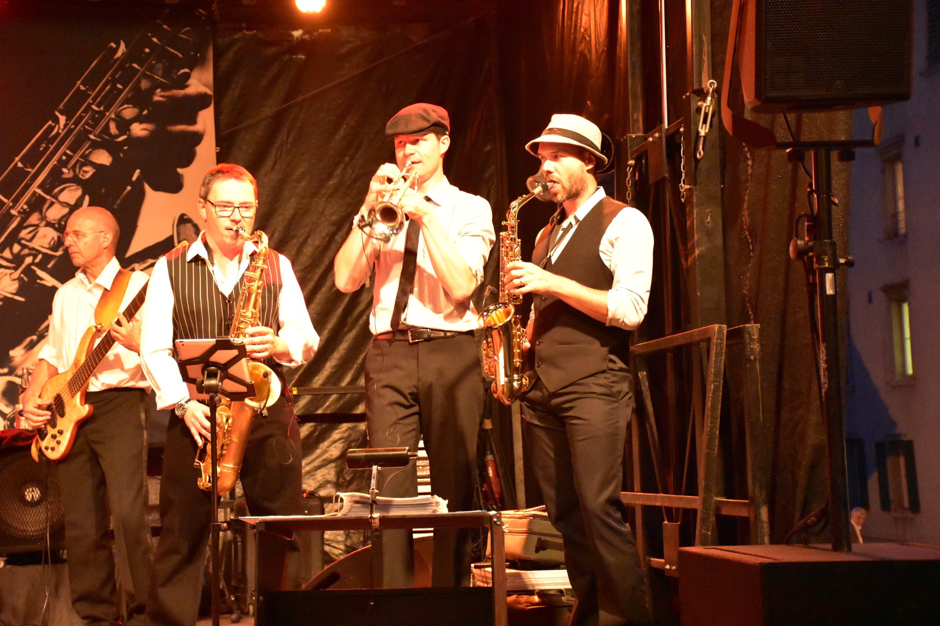 Die fünfte Jazz-Night in Wohlen