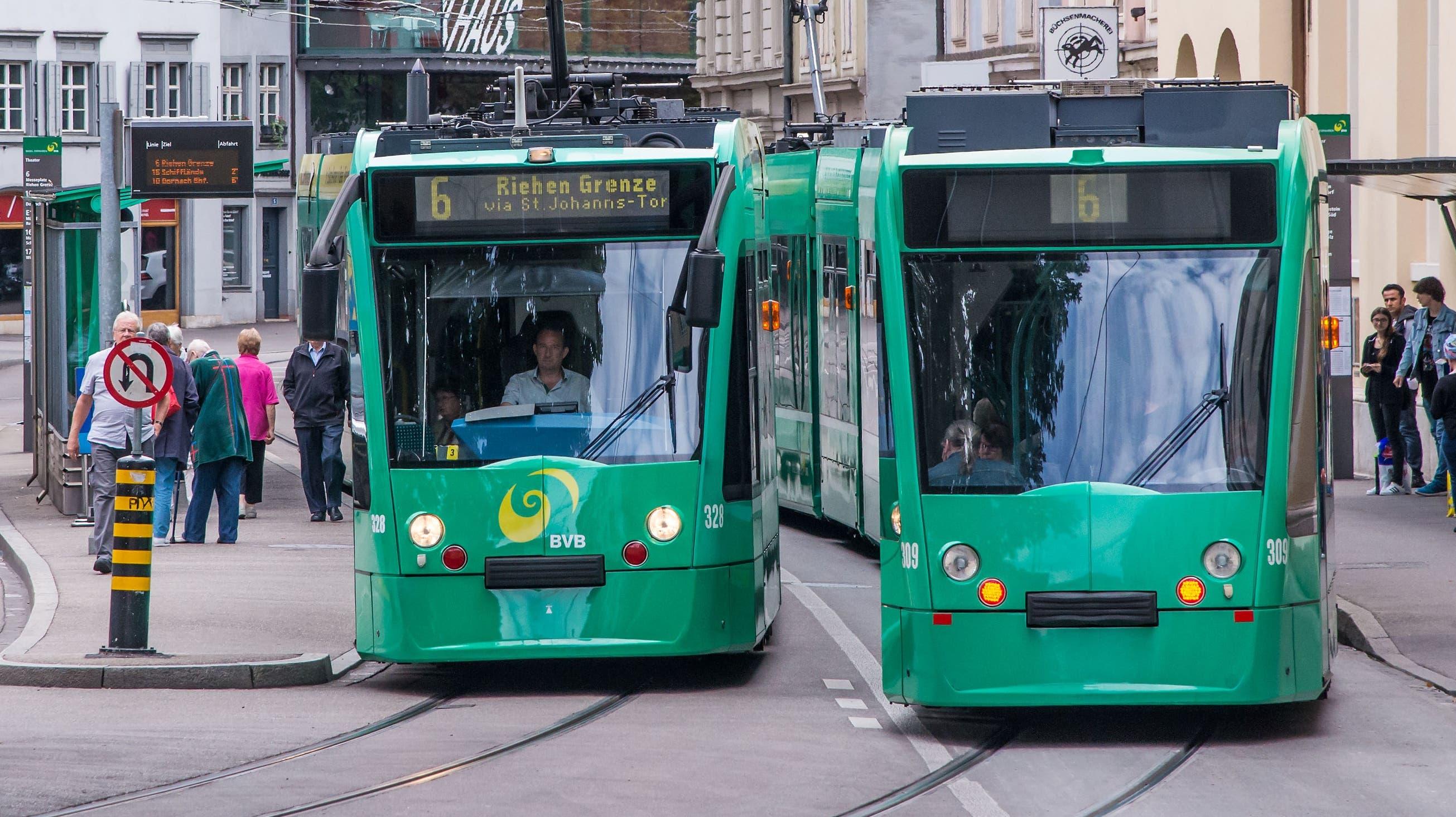 BVB Tram und Bus