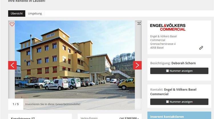«Ihre Rendite in Lausen!» – Gauglers wollen Problemhaus verkaufen