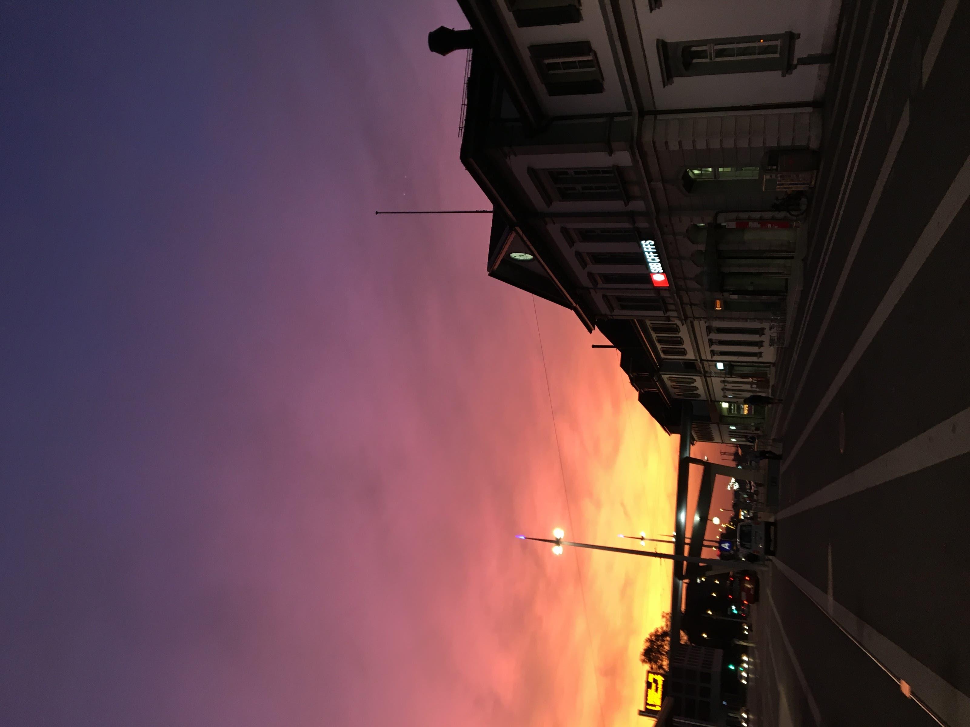 undefined Früh am Morgen am Solothurner Hauptbahnhof