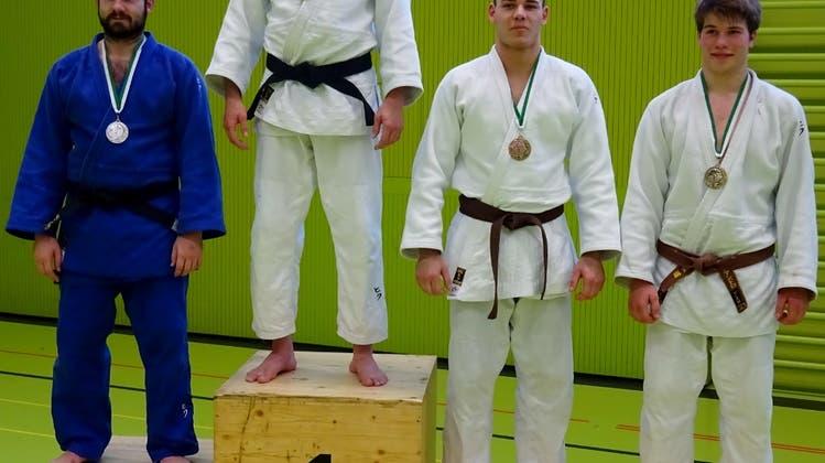Vier Medaillen für den Judo Sport Liestal im Rheintal