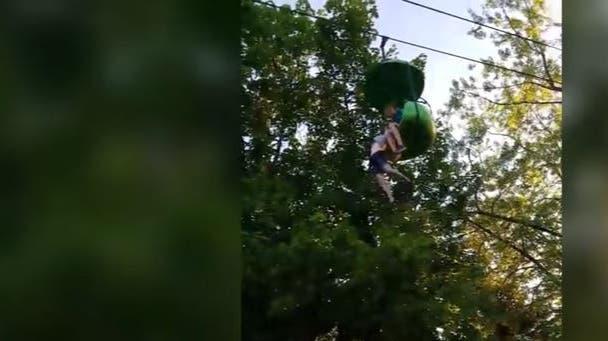 14-jähriges Mädchen fällt aus Seilbahn – in die Arme eines Mannes