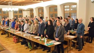 Baumann ist Brugger Einwohnerratspräsident: «Politik gehört zum Leben»