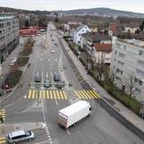 Zum Schutz der Fussgänger: Der Quartierverein Limmatfeld will bei der Überlandstrasse mitreden