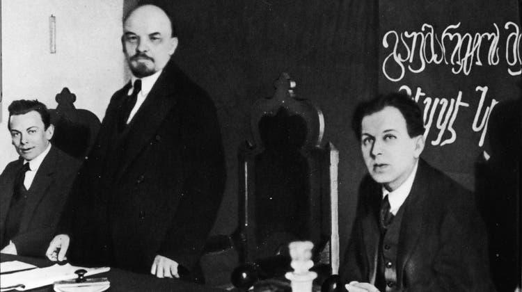 1917 kehrte Lenin nach Russland zurück – Behilflich war ihm ein Mann mit Familie in Dietikon