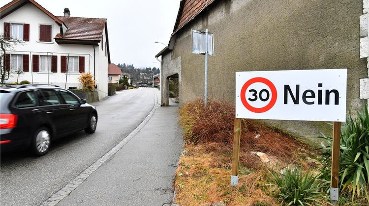 Flächendeckendes Tempo 30 in der Gemeinde wird klar abgelehnt