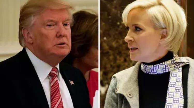 Trump feiert seinen «modernen» Twitter-Stil – und attackiert die «strohdumme» Mika