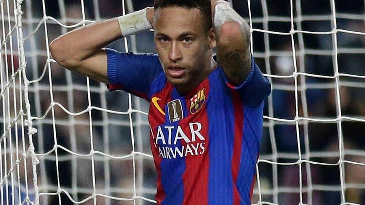 Ist der Neymar-Deal geplatzt? Die spanische Liga legt ihr Veto ein