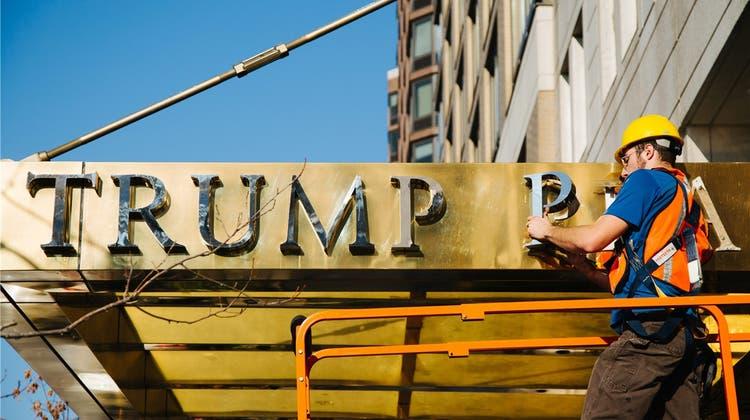 Warum Trump seinen Namen in Bern eintragen liess