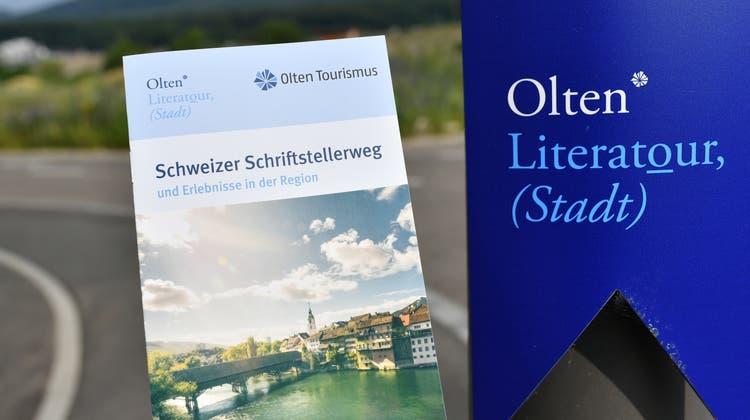 «Die Stadt hat unheimliches Potenzial»: Olten Tourismus will Marke «Olten Literatour» ausbauen