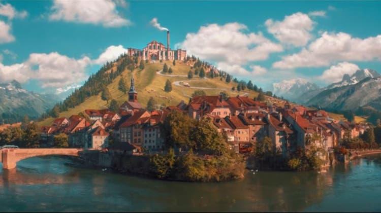 Verblüffende Ähnlichkeit: Papa Molls Film-Heimat sieht aus wie Laufenburg