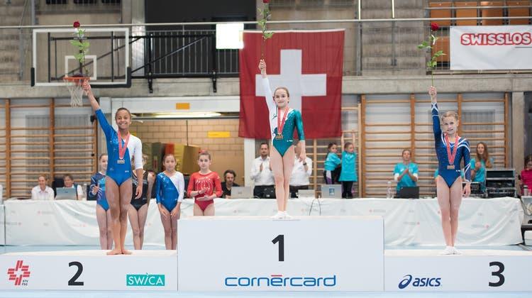 Chiara Giubellini ist Schweizer Meisterin im P4