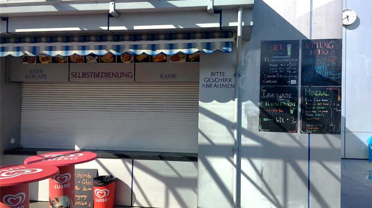 Nach Ärger um Fricker Badi-Kiosk: «Ein offenes Restaurant gehört zur Dienstleistung»