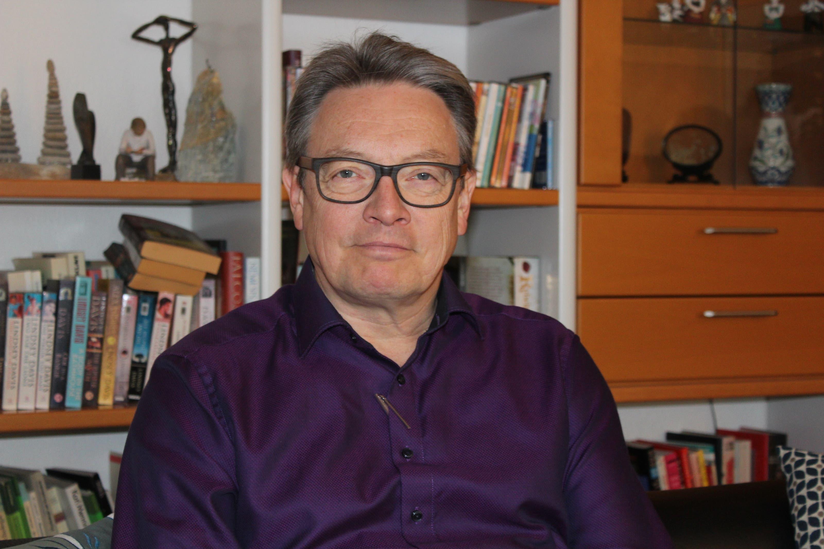 Rolf Köster Leiter des Zentrums für Psychiatrie, Psychotherapie und Beratung (ZPPB) in Bremgarten: «Eine Winterdepression ist kein Ergebnis von falscher Lebensführung. Entweder man ist dazu veranlagt oder nicht. »