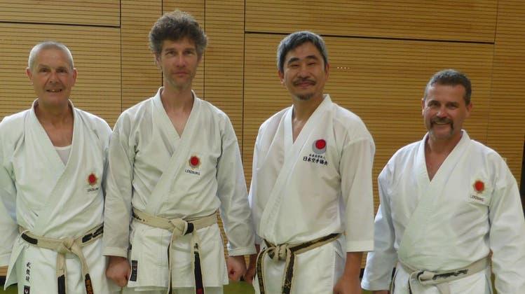 Internationales Trainingslager in Deutschland, - mit dabei Mitglieder aus dem Karate-Kai Lenzburg
