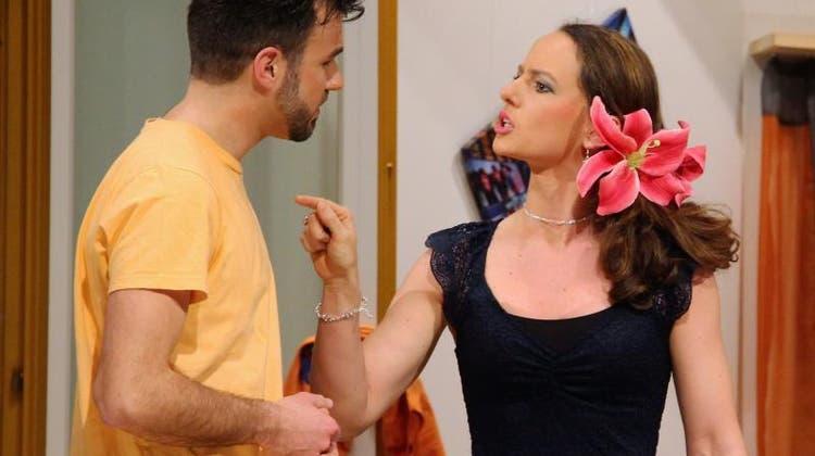 Eine turbulente Rückkehr: Mit dieser Komödie zieht die Theatergruppe alle Register