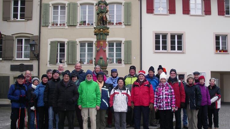 Februar-Wanderung, kalt aber trocken