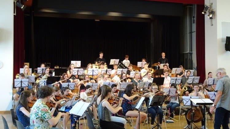 Jugendliche aus dem ganzen Kanton: Sinfonisches Feuerwerk vorprogrammiert