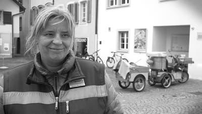 Bea Bonacorsi, Briefträgerin, Aarau: «Draussen zu sein macht mich glücklich»