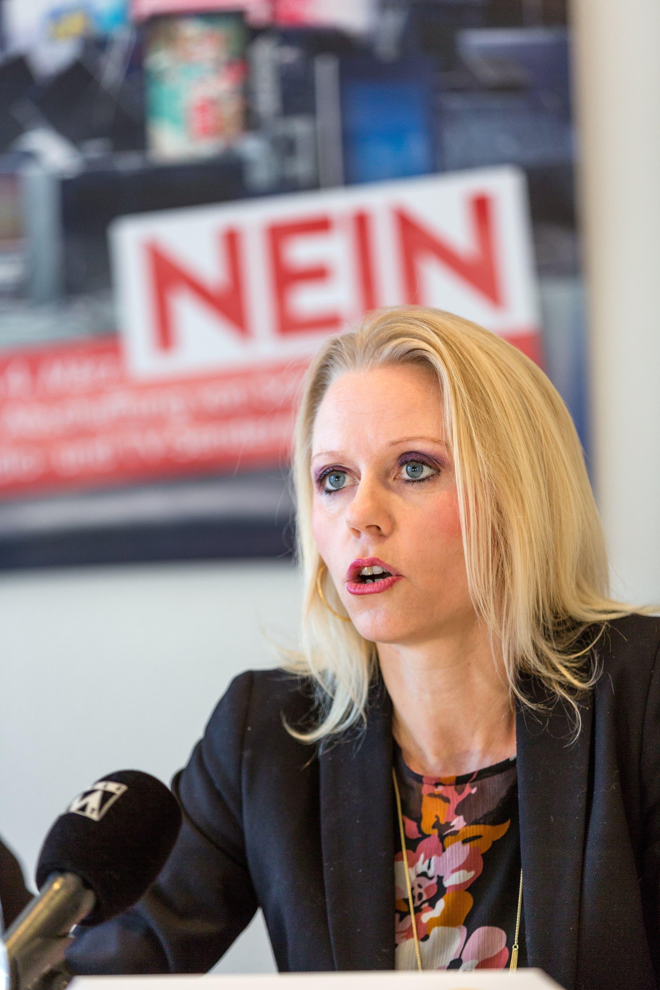 No Billag Abstimmung Im Bild: Liliane Studer (EVP)