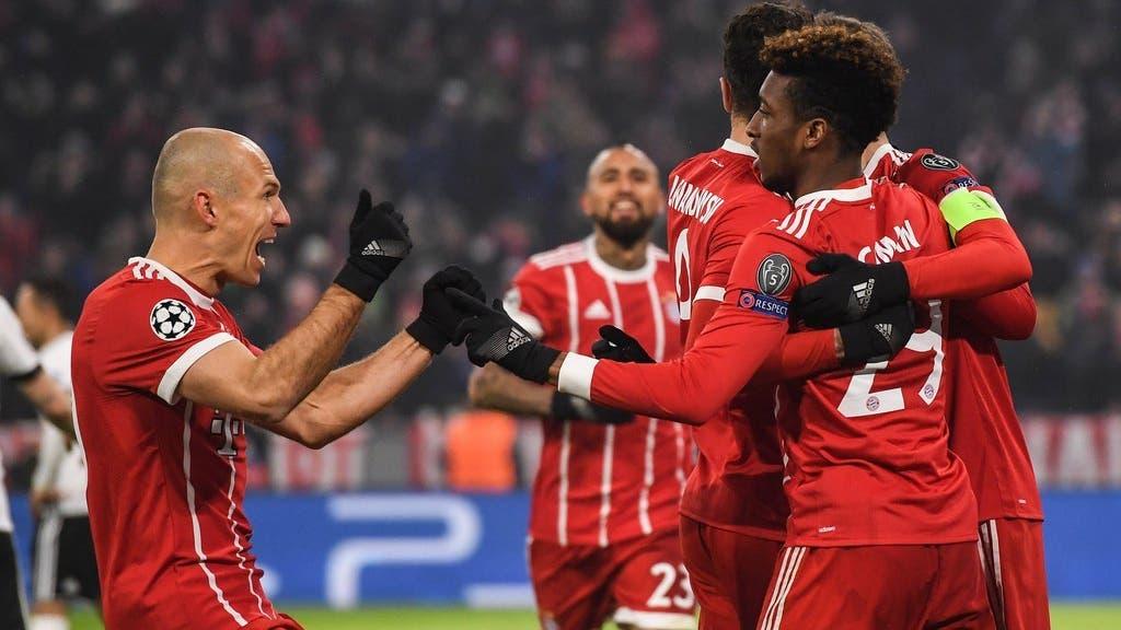 Champions League Abend vom 20.02.2018