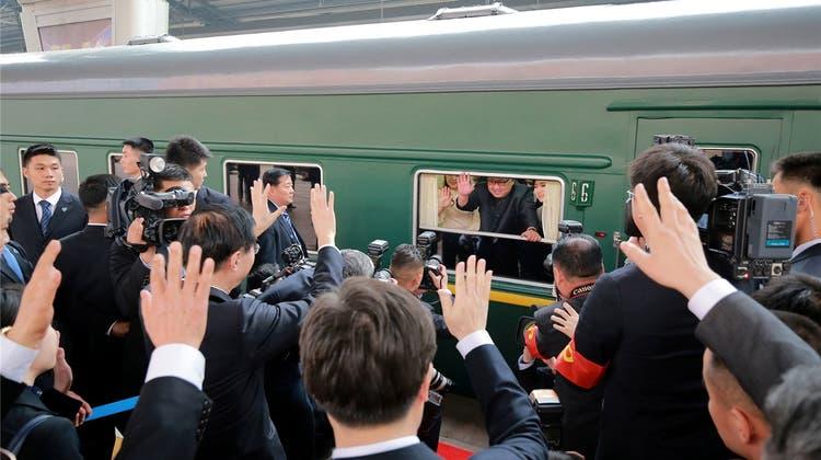 Diktatoren im Eisenbahnwagon: Nicht nur Kim Jong Un reiste mit dem Zuge