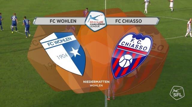 Die Highlights des 1:1 zwischen Wohlen und Chiasso im Video