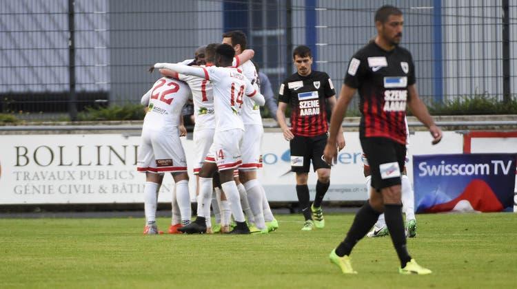 Im Video: Die Höhe- und Tiefpunkte der Aarauer 0:1-Niederlage beim FC Le Mont
