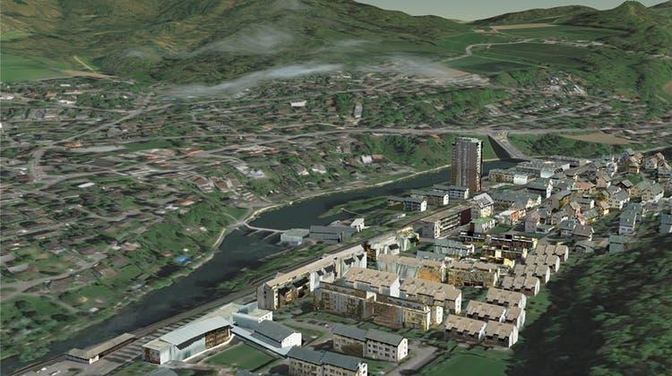 Das ist das erstes Schweizer 3D-Stadtmodell