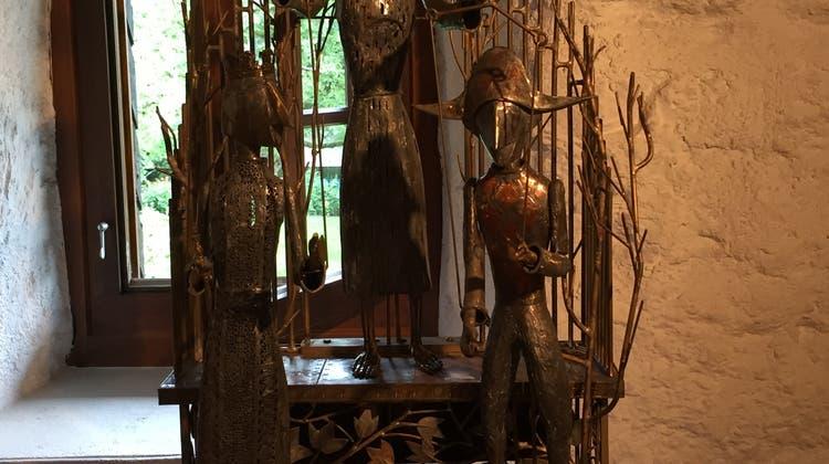 Exkursion zu Paul Gugelmann und ins Barockschloss und Park Jegestorf
