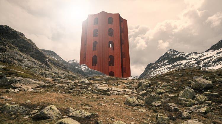 Ein Theaterhaus auf 2300 Metern Höhe: Der Julierturm wird Wirklichkeit