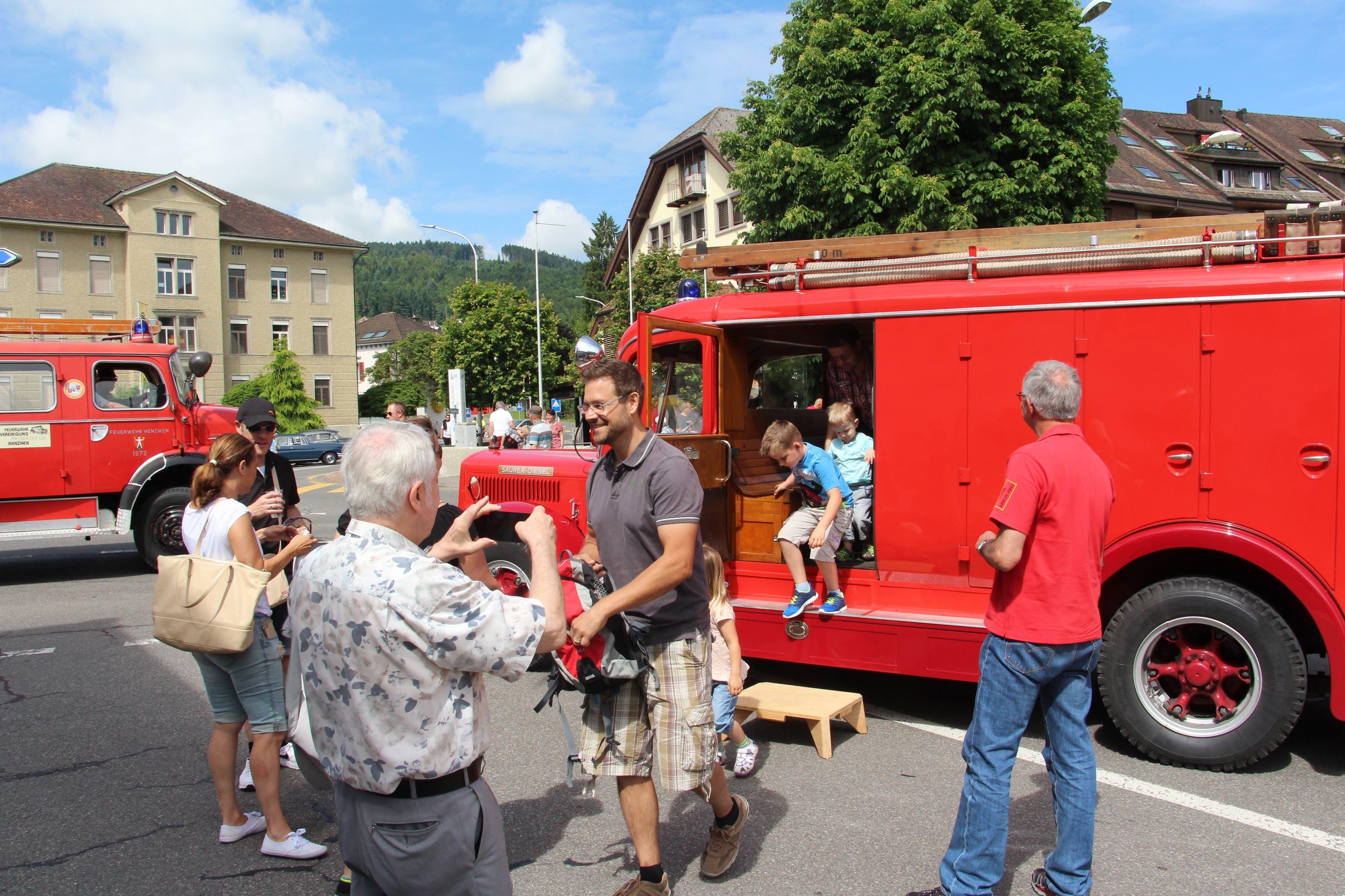 Bilder vom Menziker Dorffest. Dorffest Menziken