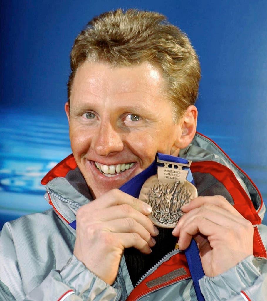 Wolfgang Perner gewann an den Olympischen Winterspielen 2002 die Bronzemedaille.