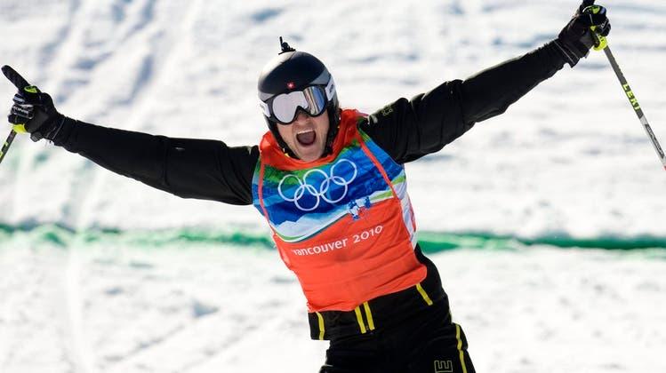 Witze im Spielsalon – Skicrosser Mike Schid spricht über die Stunden vor seinem Triumph