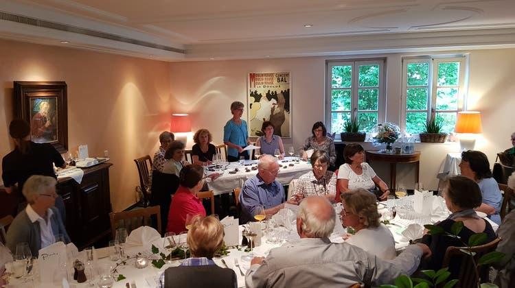 Generalversammlung am 9. Mai 2018 im Restaurant Pinte Dättwil