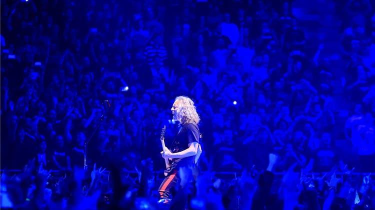 """Metallica ohne Ermüdungserscheinungen: """"Die Wut ist immer noch da und will raus"""""""