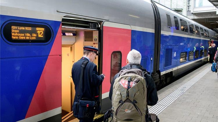 Bald mehr Platz im TGV: Auf der Strecke Basel – Paris wird mächtig aufgerüstet