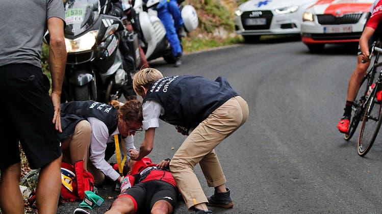 Nach dem Sturzfestival der ersten Woche: Ist die Tour de France eine Nummer zu gefährlich?