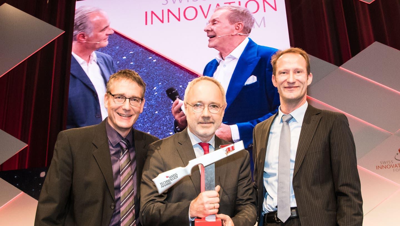 Unternehmen mit Sitz in Reinach ausgezeichnet: Endress & Hauser erhält Technologie-Preis