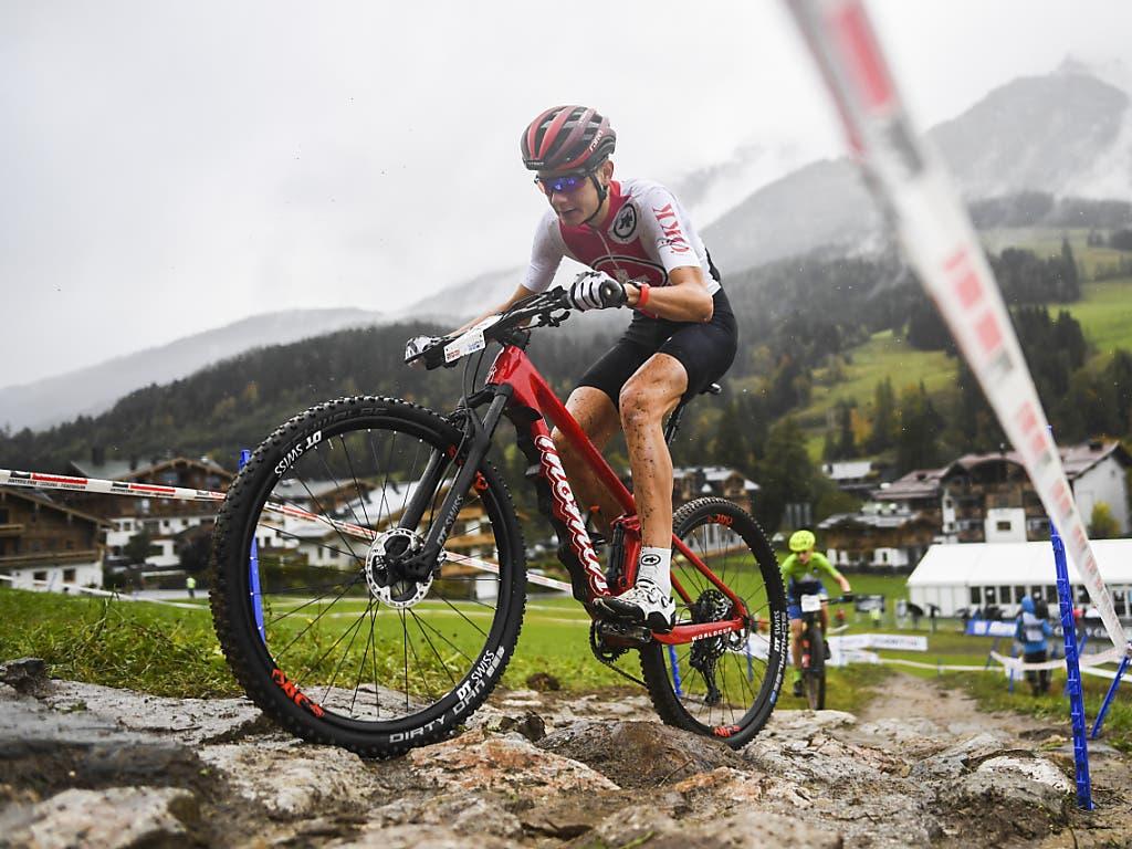 Alexandre Balmer rettete der Schweizer Team-Staffel an der WM in Leogang die Medaille, indem er als letzter Fahrer des Sextetts noch zwei Plätze gut machte.