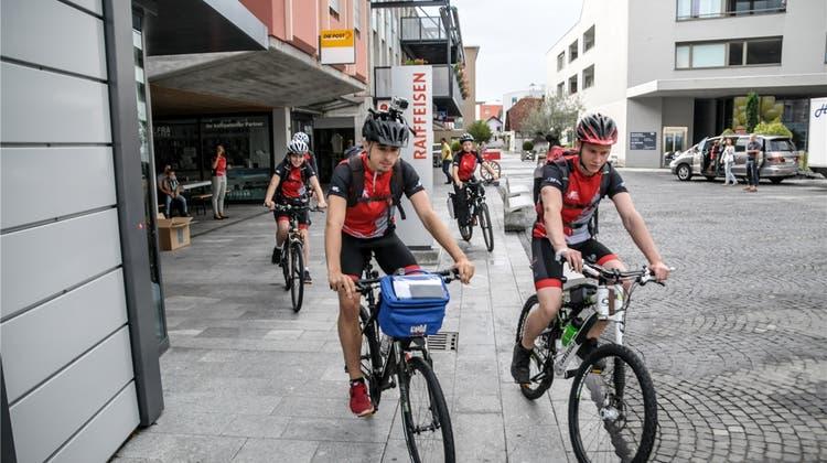 Mit dem Velo ans Mittelmeer: bbz-Biker haben ihr Ziel erreicht
